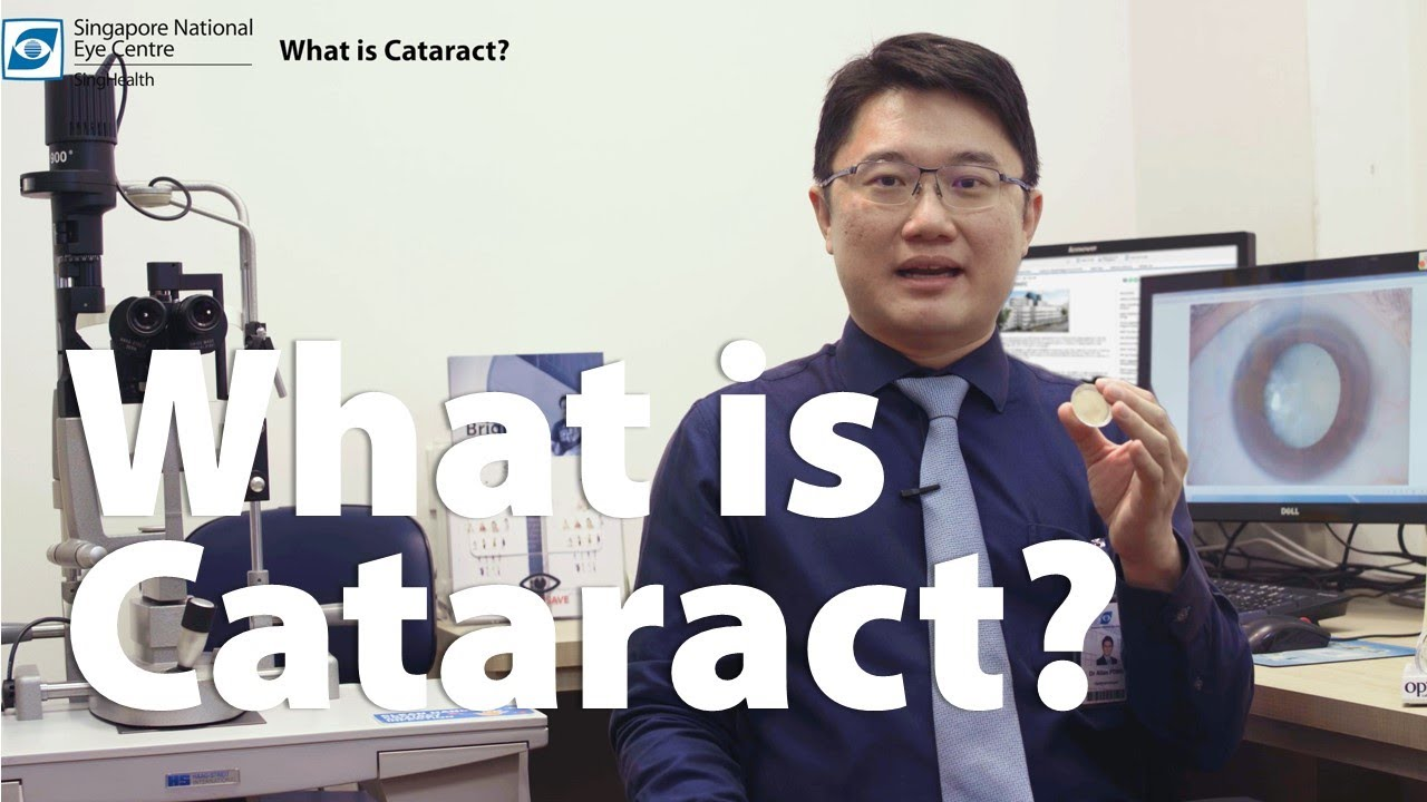SingHealth – What is Cataract?