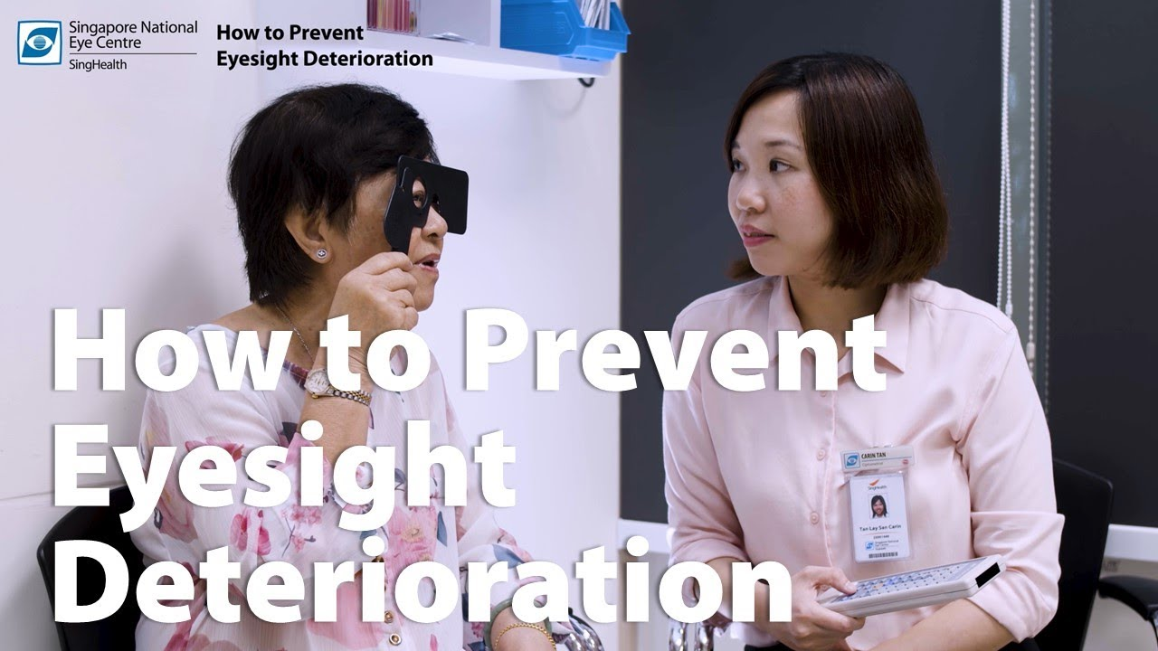 SingHealth – How to Prevent Eyesight Deterioration